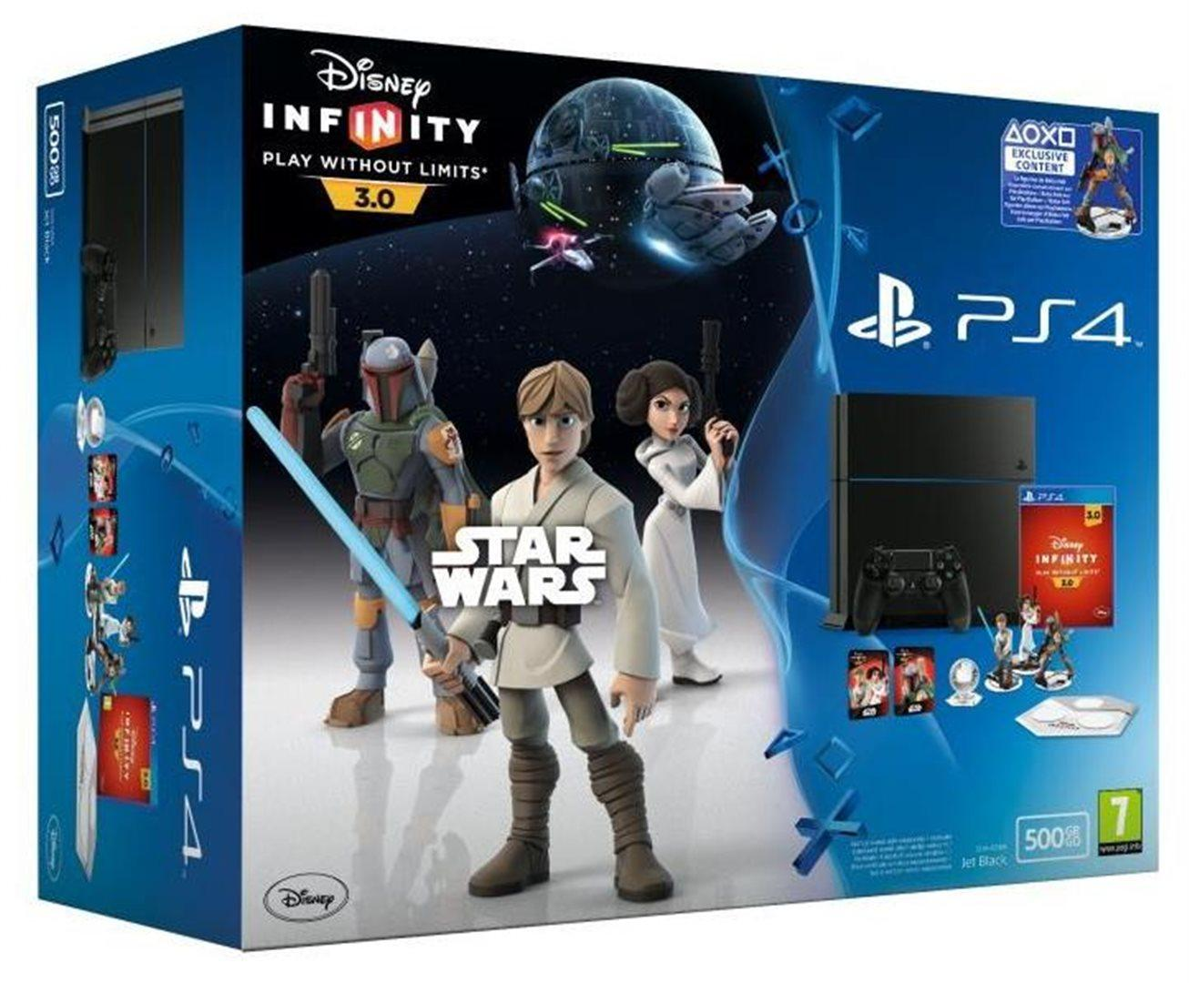 PS4 - Playstation 4 500GB + Disney Infinity 3.0